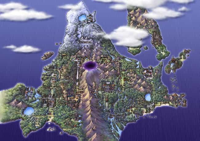 Sinnoh Region is listed (or ranked) 1 on the list The Best Pokémon Regions
