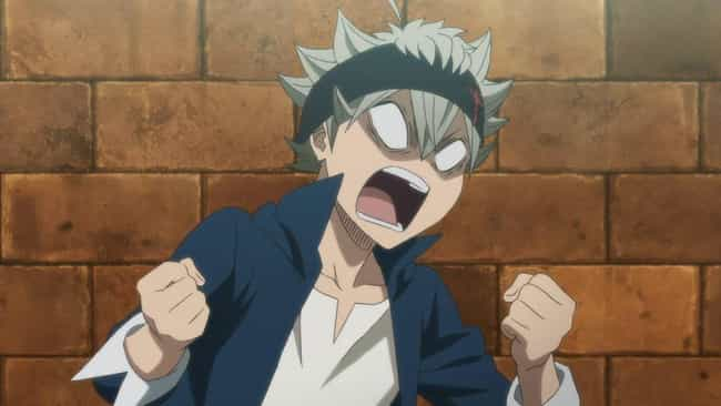 Asta - Black Clover is listed (or ranked) 2 on the list The 14 Loudest Anime Characters Who Are Always Screaming