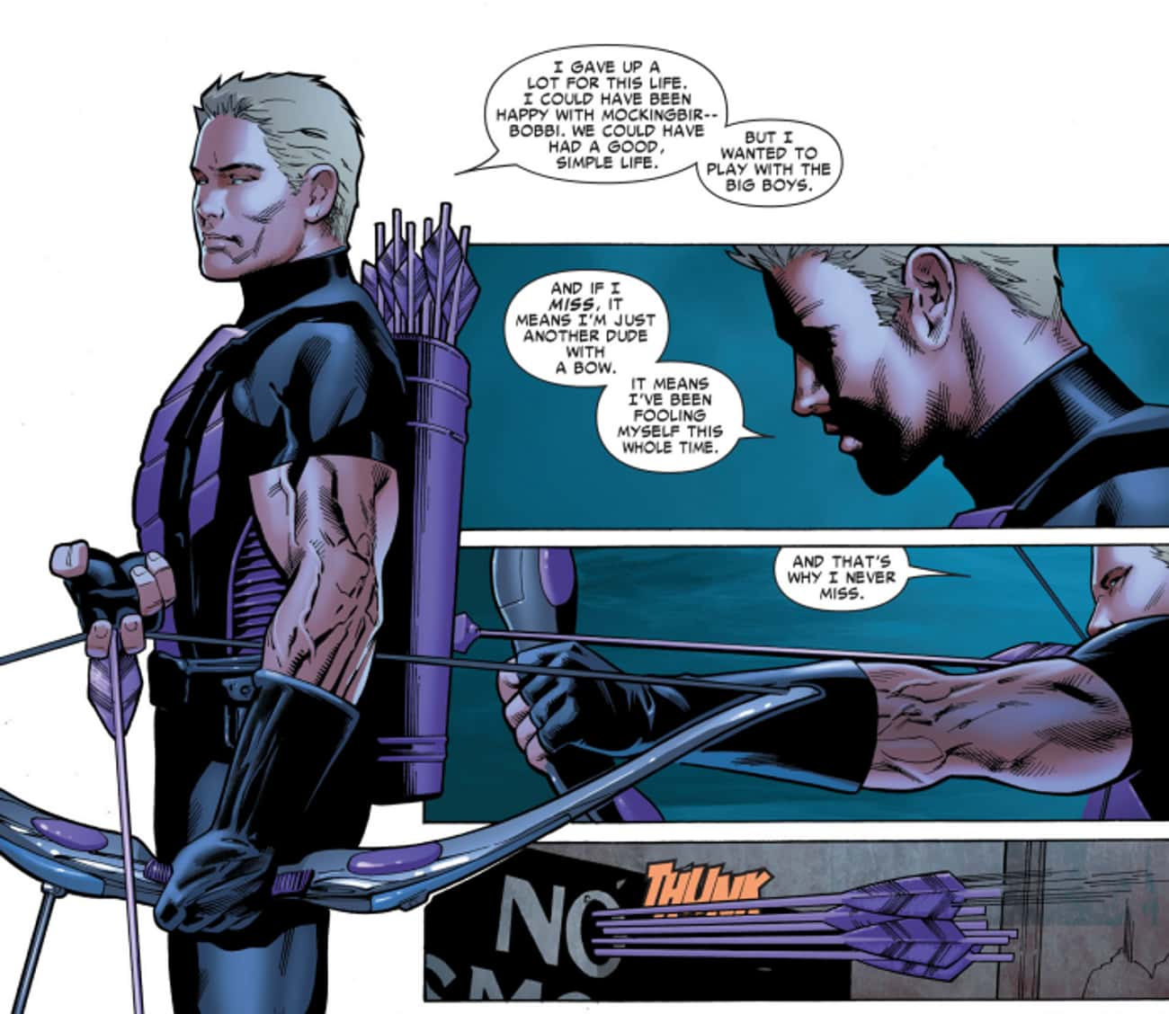 Hawkeye Holds Himself To A Ridiculously High Standard