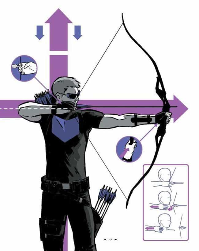 Clint Barton Has No Supe... is listed (or ranked) 2 on the list Here's Why It's Time To Stop Making Fun Of Hawkeye