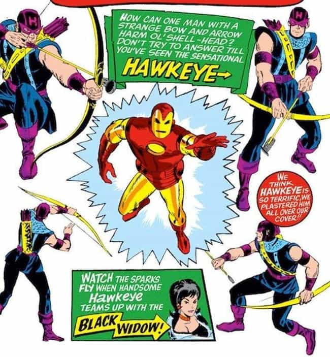 He Started Out As An Iron Man ... is listed (or ranked) 5 on the list Here's Why It's Time To Stop Making Fun Of Hawkeye