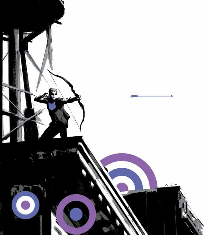 Hawkeye Stars In One Of The Be... is listed (or ranked) 6 on the list Here's Why It's Time To Stop Making Fun Of Hawkeye