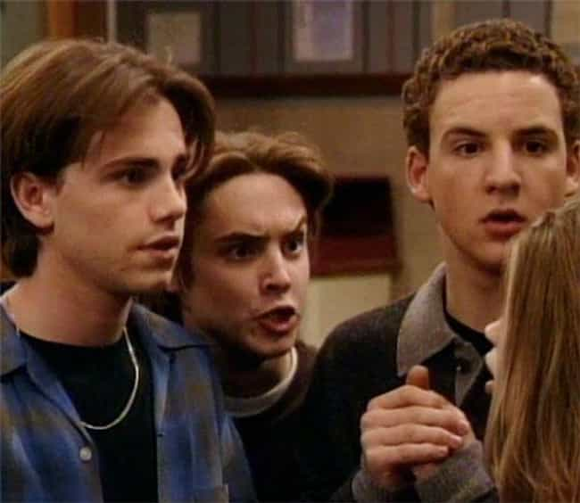 The Age Gap Between Cory And E... is listed (or ranked) 2 on the list Things That 'Boy Meets World' Got Away With Not Explaining