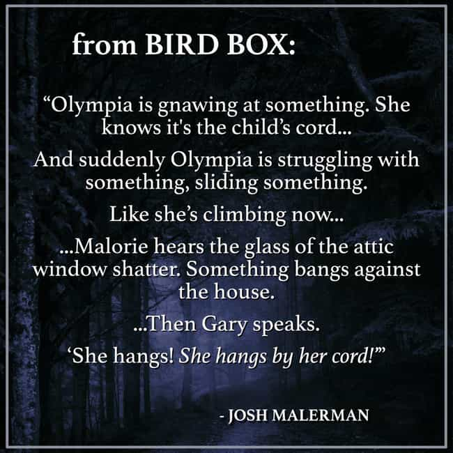Olympia's End Is Far More Grue... is listed (or ranked) 4 on the list Things From The 'Bird Box' Book That Were Too Intense For The Screen