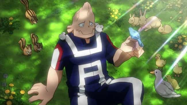 Koji Koda - My Hero Acad... is listed (or ranked) 2 on the list 14 Anime Characters That Fight With Animal Manipulation