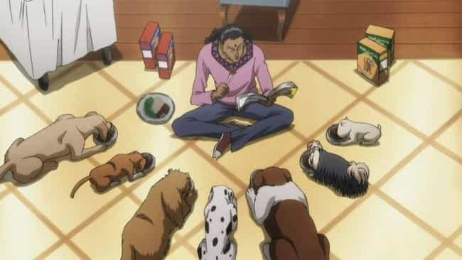 Squala - Hunter X Hunter is listed (or ranked) 4 on the list 14 Anime Characters That Fight With Animal Manipulation