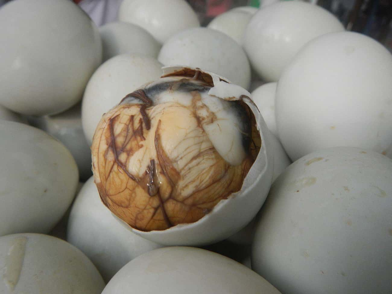 Balut is listed (or ranked) 1 on the list The Strangest Things You Can Eat At The Disgusting Food Museum