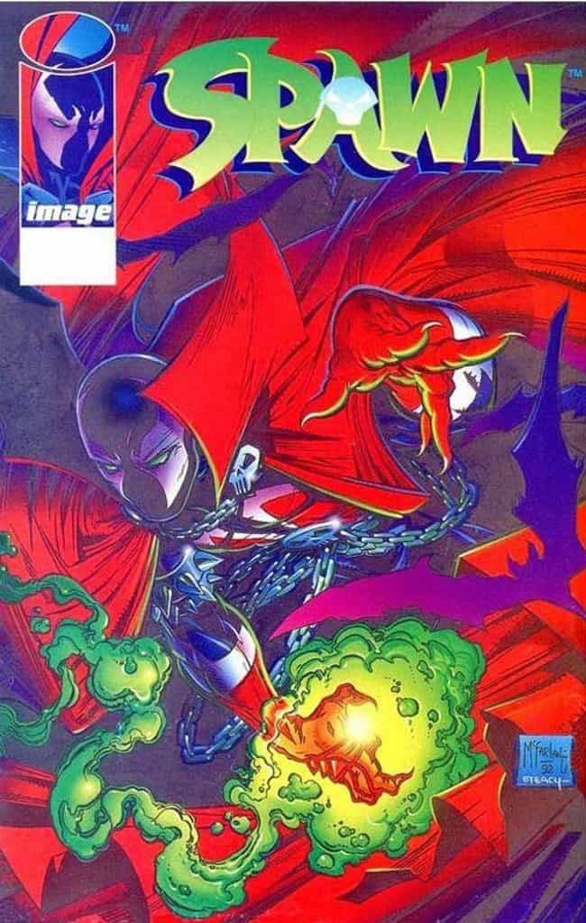 'Spawn #1' With Manufact... is listed (or ranked) 5 on the list '90s Comic Books That Are Actually Worth A Ton Now