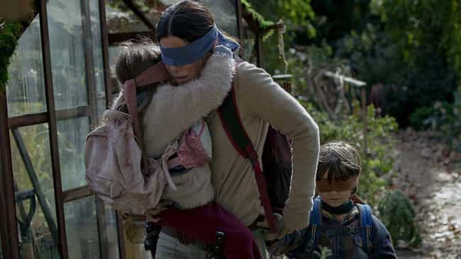 The Actors Struggled To ... is listed (or ranked) 3 on the list Behind-The-Scenes Stories From The Making Of 'Bird Box'