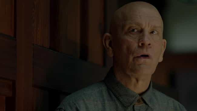 John Malkovich Helped Sa... is listed (or ranked) 1 on the list Behind-The-Scenes Stories From The Making Of 'Bird Box'