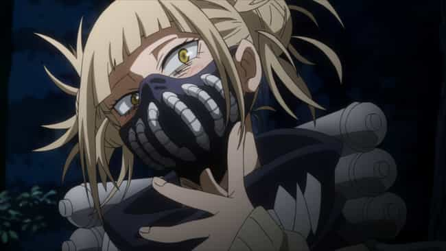 Himiko Toga - My Hero Academia is listed (or ranked) 4 on the list The 15 Best Anime Characters That Fight With Needles