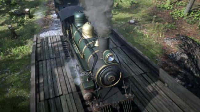 You Can Rob A Train is listed (or ranked) 1 on the list All The Best, Most Satisfying Things To Do In 'Red Dead Redemption 2' Outside Of The Main Storyline