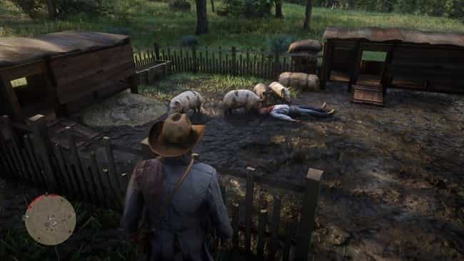You Can Feed Bodies To Pigs is listed (or ranked) 4 on the list All The Best, Most Satisfying Things To Do In 'Red Dead Redemption 2' Outside Of The Main Storyline