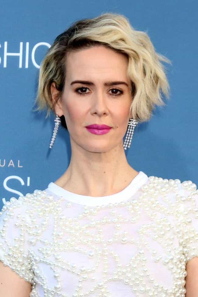 She Was 12 Years Old When She ... is listed (or ranked) 2 on the list 15 Things You Didn't Know About Sarah Paulson And Her Career