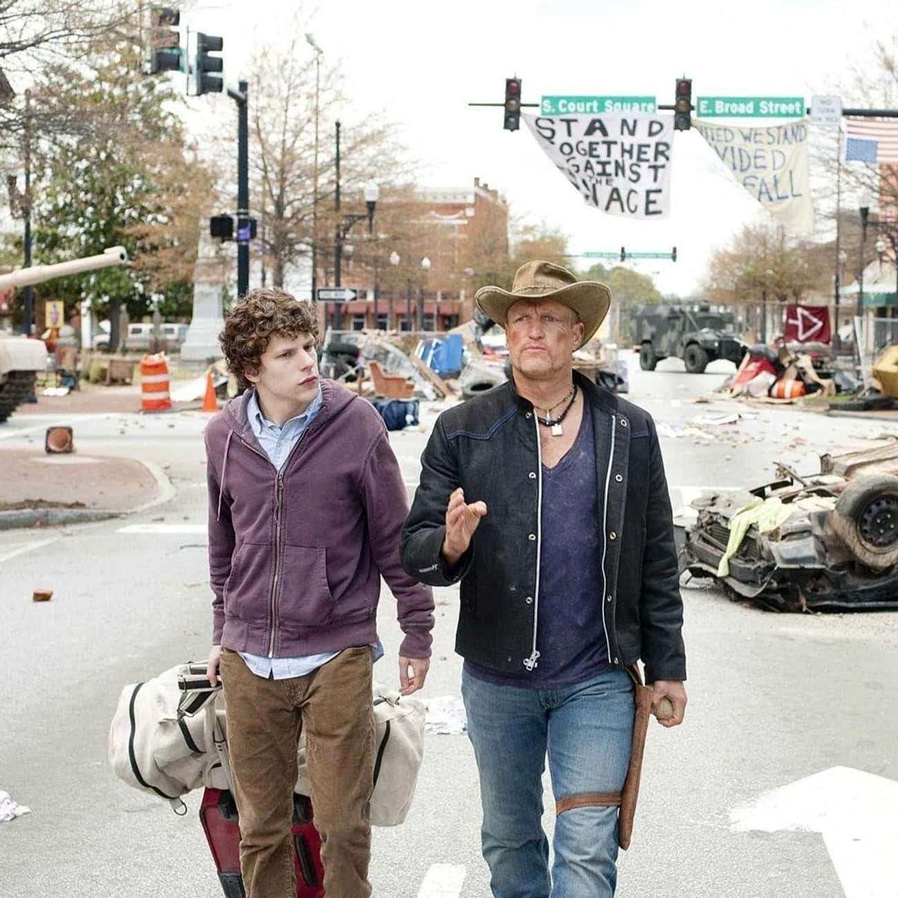 Wanna Stick Together? is listed (or ranked) 4 on the list The Most Hilarious 'Zombieland' Quotes