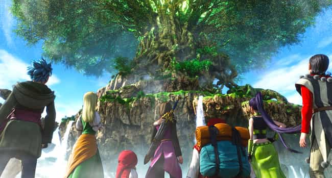 Dragon Quest XI: Echoes of an ... is listed (or ranked) 3 on the list The 15 Best Anime RPGs You Can't Afford To Miss