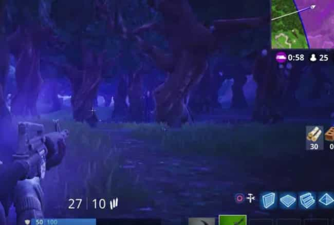 Slenderman In Wailing Woods is listed (or ranked) 3 on the list The Creepiest Things In 'Fortnite'