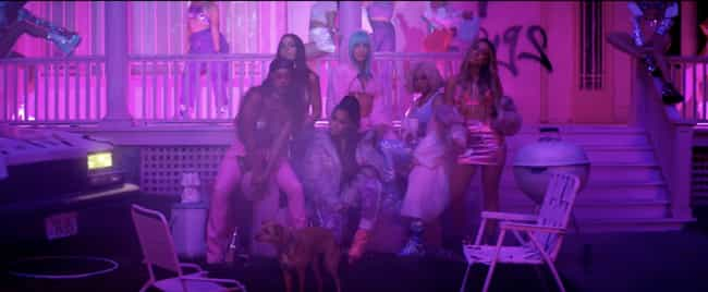 Grande Took Friends On A... is listed (or ranked) 1 on the list Ariana Grande's '7 Rings' Music Video, Explained
