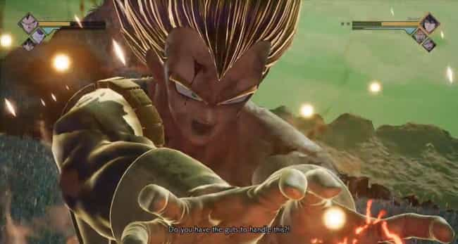 Final Flash (Vegeta) is listed (or ranked) 2 on the list The Best 'Jump Force' Ultimate Attacks