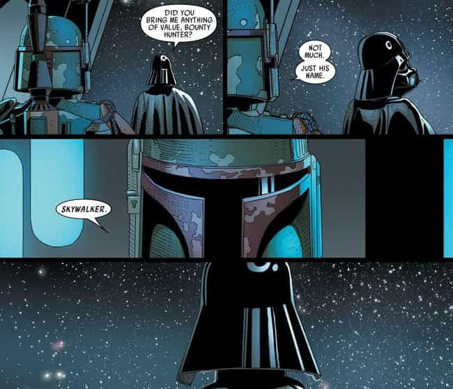 Darth Vader Learns Luke Is His... is listed (or ranked) 4 on the list Unbelievable Revelations About The 'Star Wars' Canon From The Official Comics