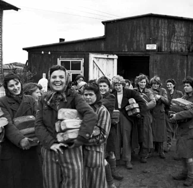Women Waiting For Food Rations... is listed (or ranked) 1 on the list Fascinating Photos That Show The Human Side Of WWII