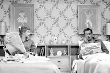 Lucy And Ricky Never Even Slep is listed (or ranked) 2 on the list The Pregnancy Episode Of 'I Love Lucy' Was So Controversial, It Was Almost Banned