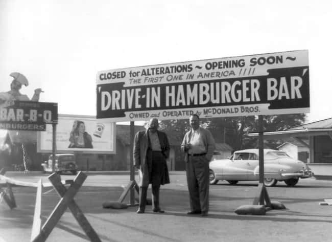 1948: The First McDonald's And is listed (or ranked) 13 on the list Utterly Fascinating Photos That Weren't In Your History Textbooks