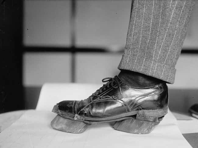 1924: A Moonshiner's Cow Shoe, is listed (or ranked) 6 on the list Utterly Fascinating Photos That Weren't In Your History Textbooks