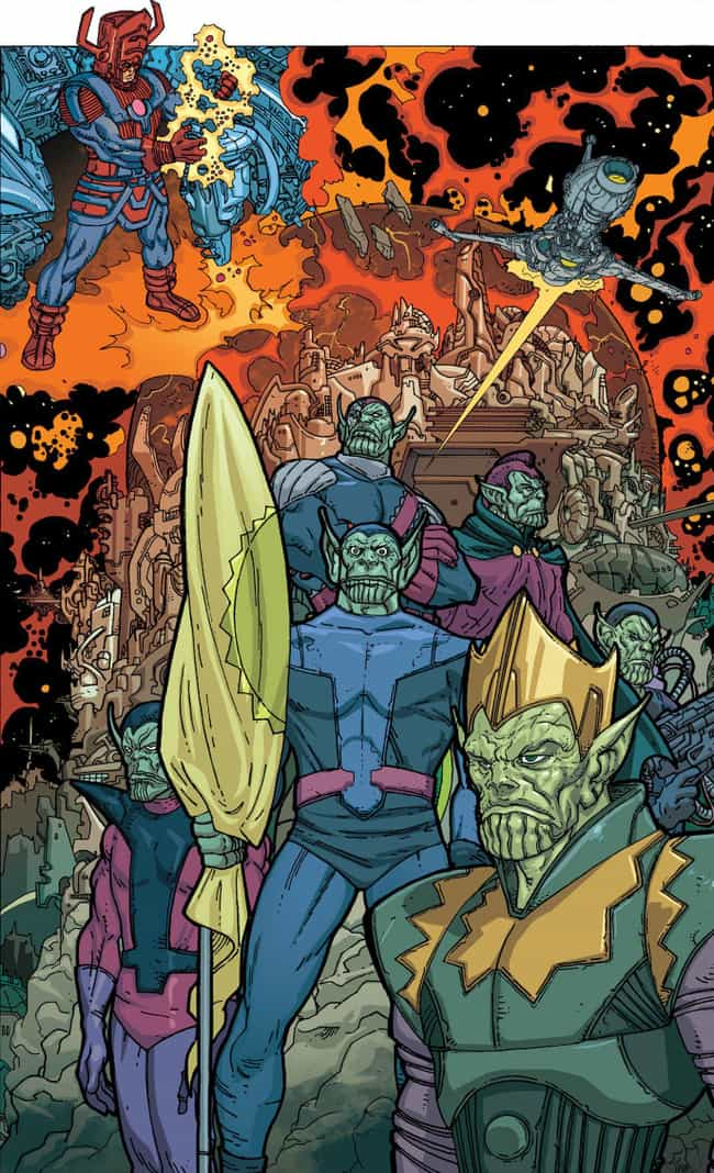 The 'Secret Invasion' Involves... is listed (or ranked) 1 on the list Here's What Happened The Last Time Skrulls Invaded The Marvel Universe