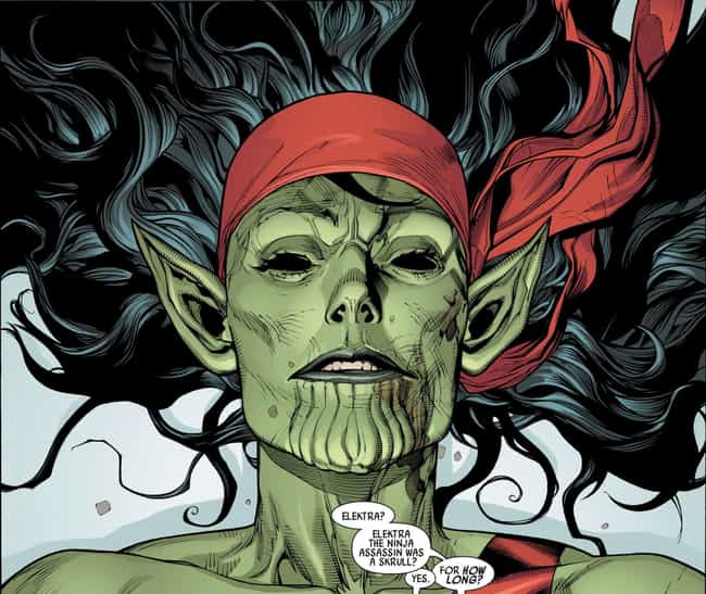 The Infiltration Is Revealed W... is listed (or ranked) 2 on the list Here's What Happened The Last Time Skrulls Invaded The Marvel Universe