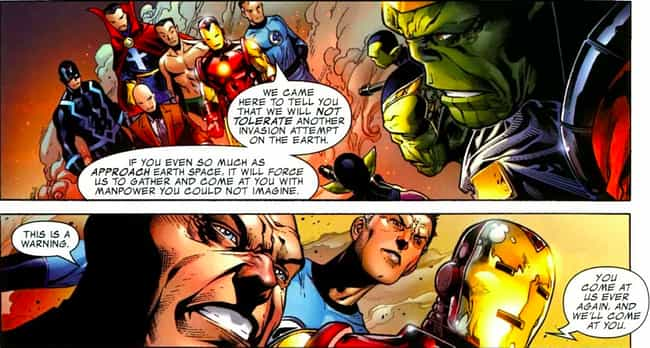 A Side Goal Of The 'Secret Inv... is listed (or ranked) 4 on the list Here's What Happened The Last Time Skrulls Invaded The Marvel Universe