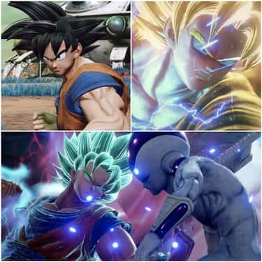 Son Goku is listed (or ranked) 2 on the list The Most Dramatic 'Jump Force' Transformations
