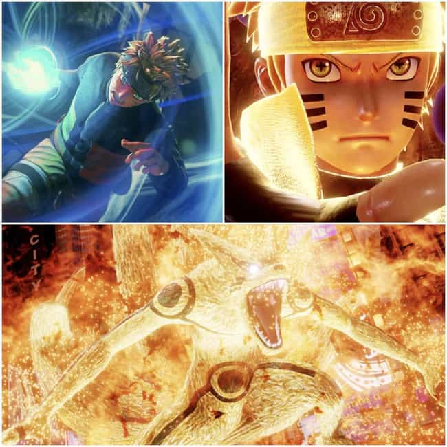 Naruto Uzumaki is listed (or ranked) 2 on the list The Most Dramatic 'Jump Force' Transformations