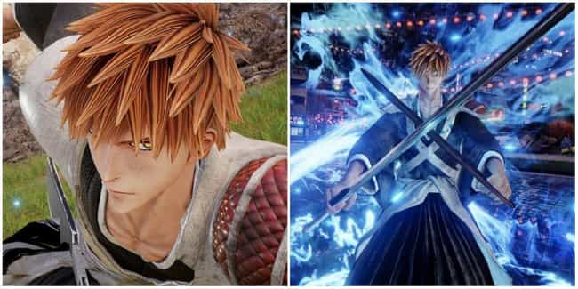 Ichigo Kurosaki is listed (or ranked) 1 on the list The Most Dramatic 'Jump Force' Transformations