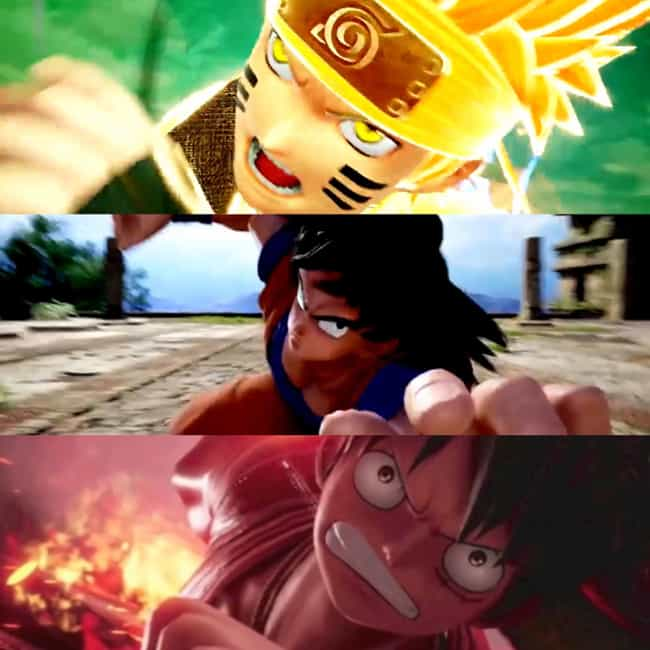The Big Three is listed (or ranked) 1 on the list The 20 Best 'Jump Force' Dream Teams