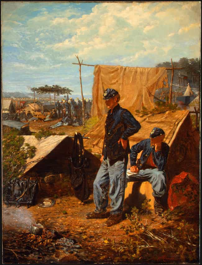 Home, Sweet Home is listed (or ranked) 3 on the list The Best Civil War Paintings