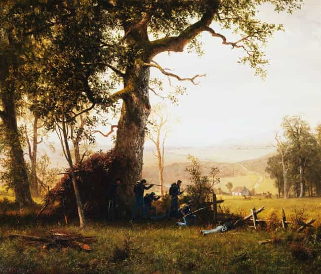 Guerrilla Warfare is listed (or ranked) 4 on the list The Best Civil War Paintings