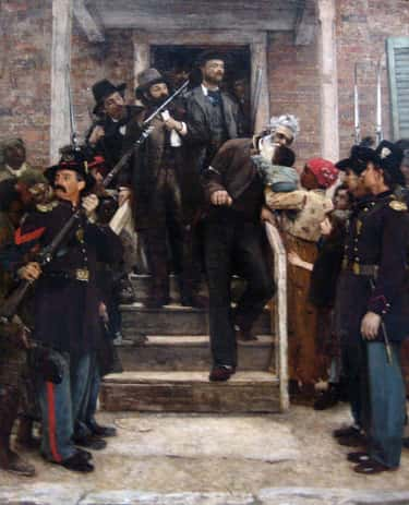 The Last Moments of John Brown is listed (or ranked) 2 on the list The Best Civil War Paintings