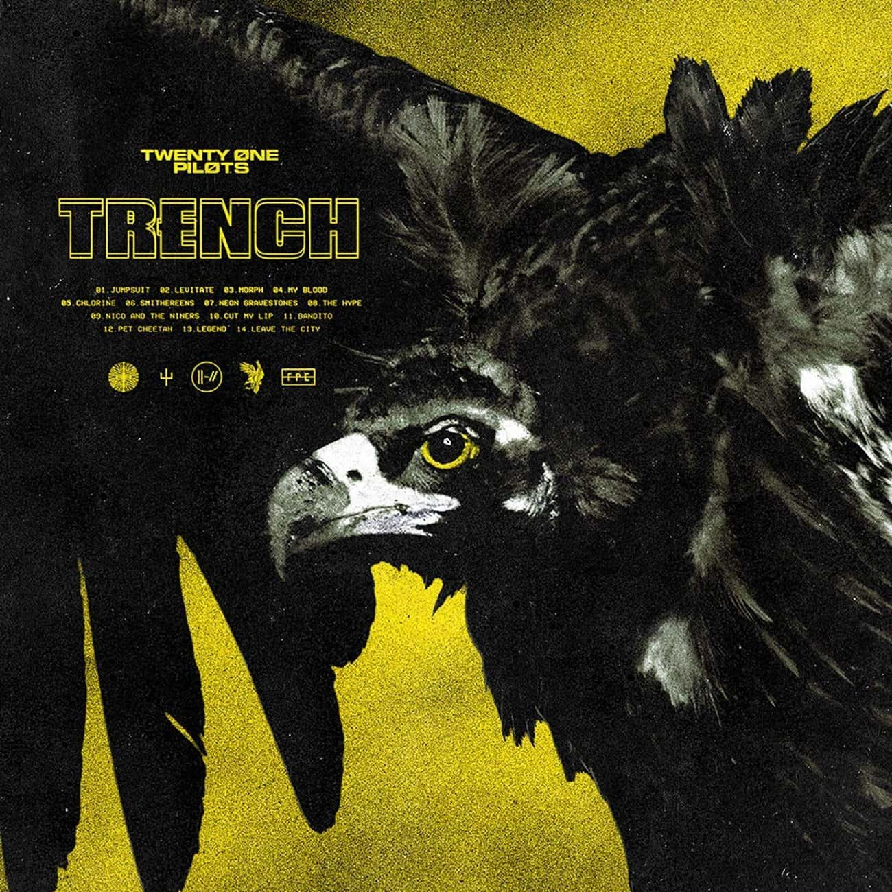 Trench  is listed (or ranked) 2 on the list The Best Twenty One Pilots Albums, Ranked