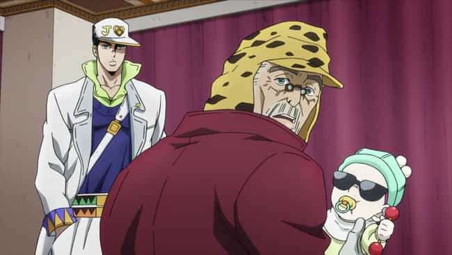 Shizuka Joestar - JoJo's Bizar... is listed (or ranked) 2 on the list The 15 Greatest Anime Characters With Invisibility Power