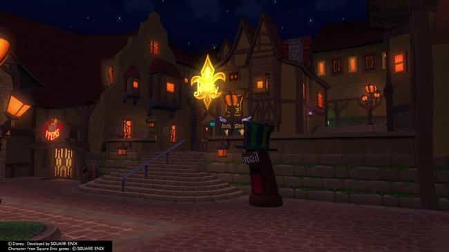 Traverse Town is listed (or ranked) 4 on the list The Best Kingdom Hearts Worlds