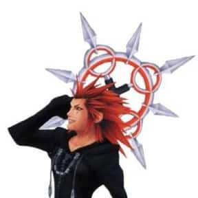 Axel is listed (or ranked) 6 on the list The Best To Worst Kingdom Hearts Characters