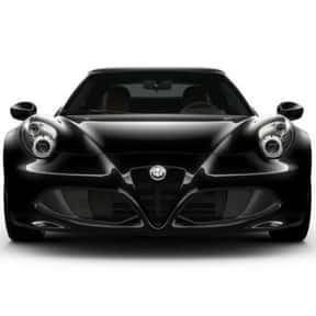 Alfa Romeo 4C Spider is listed (or ranked) 14 on the list The Best Cars of 2019