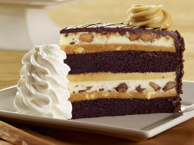 Reese's Peanut Butter Ch... is listed (or ranked) 4 on the list The Best Cheesecakes At The Cheesecake Factory, Ranked
