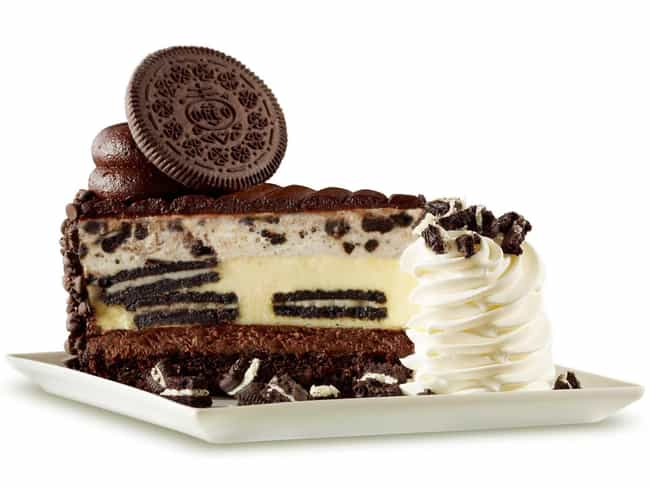 Oreo Dream Extreme Chees... is listed (or ranked) 1 on the list The Best Cheesecakes At The Cheesecake Factory, Ranked