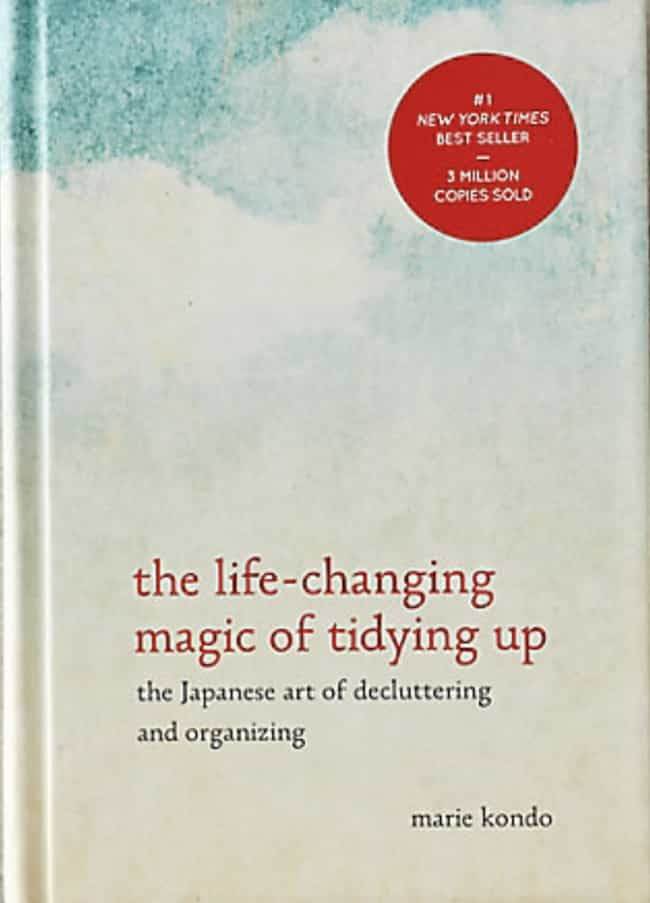 Marie Kondo's Book To Teach Yo... is listed (or ranked) 4 on the list All The Products You Need If You Want To Declutter Your Home Like Marie Kondo