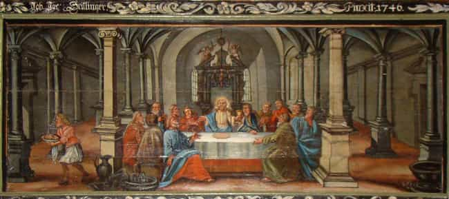 Abendmahlsdarstellung is listed (or ranked) 3 on the list The Best Paintings of The Last Supper
