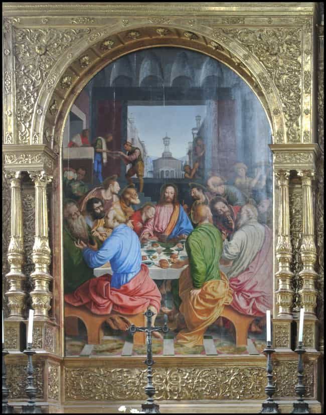Basilica Of Santa Maria, The L... is listed (or ranked) 4 on the list The Best Paintings of The Last Supper