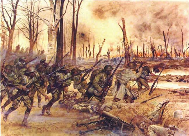 Hell Fighters From Harle... is listed (or ranked) 4 on the list The Best WWI Paintings