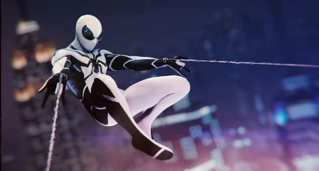 Future Foundation Suit is listed (or ranked) 3 on the list The Best Spider-Man PS4 Suits, Ranked